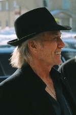 David Carradine greeting fans