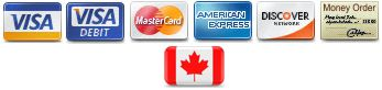 Reliks accepts Visa, Visa Debit, Mastercard, American Express, Discover and Money Orders