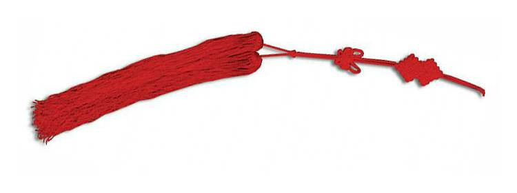 Red Tai Chi Sword Tassel - OH2078 - Paul Chen - Hanwei