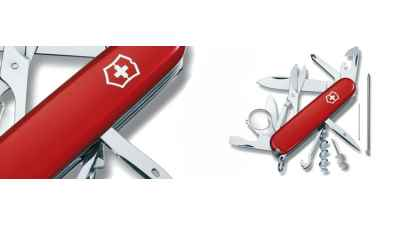 Victorinox Explorer Plus Red Knife Historical Reference