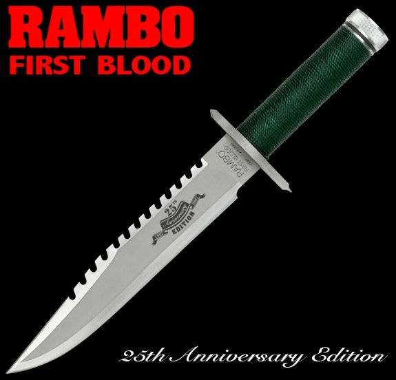 Rambo First Blood Knife  Ltd. Edition - MCRB1A25 -