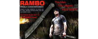 Rambo IV Knife - MC-RB4 -