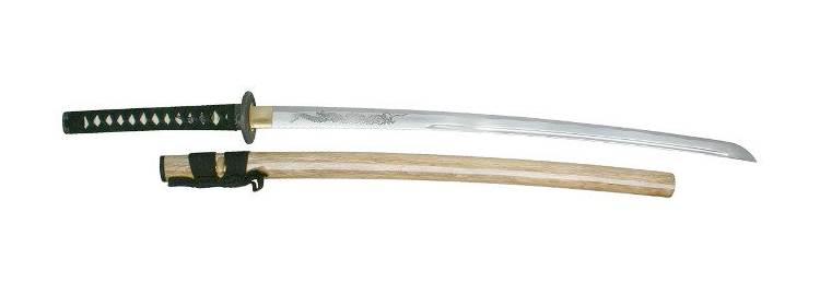 Hand Forged Dragon Katana - MC-3054 -