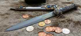 Steel Viking Dagger