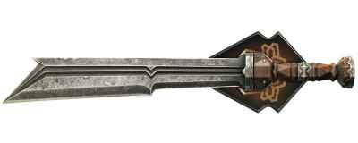 The Hobbit Sword of Fili