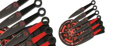 Throwing Knife Target Set