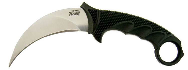 Steel Tiger Knife - 49KSJ1 - Cold Steel