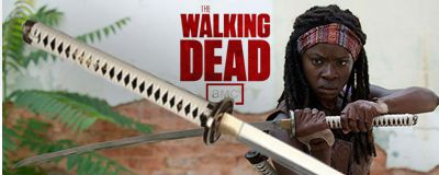 Official Walking Dead Michonne Sword