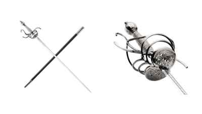 The Christus Imperat Rapier