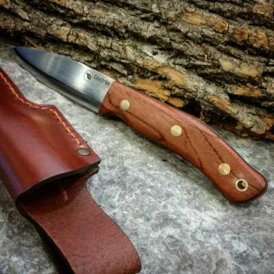 No.10 Bubinga Knife