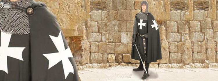 Hospitaller Hooded Cape - 101601 - Windlass Steelcrafts