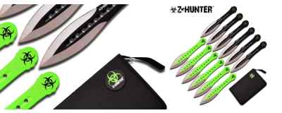 12 Piece Zombie Thrower Set - ZB-163-12 -