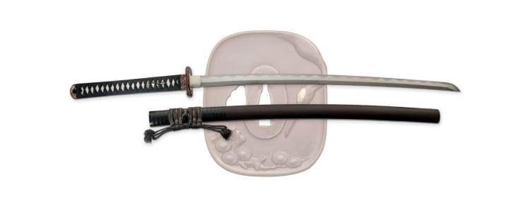 Pine Crane Katana - SD35290 - Dragon King