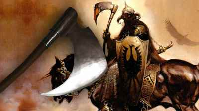 Frank Frazetta Death Dealer Signature Edition Axe
